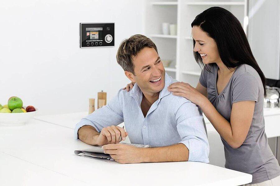 Smart Home - Kontrolle per Kontrollpanel