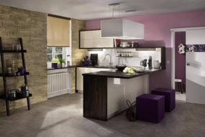 Rollo - In moderner Küche
