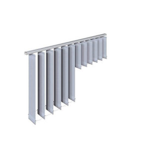 Vertikal-Jalousien - In Stufen, Illustration