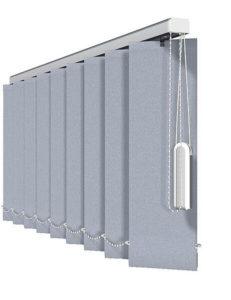 Vertikal-Jalousien - Standard, Illustration