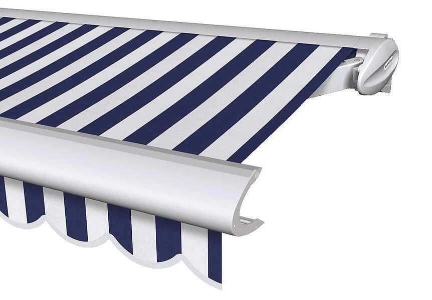 Terrassen-Markisen - Warema 550, blaues Tuch