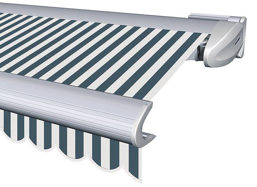 Terrassen-Markisen - Warema 580, blaues Tuch