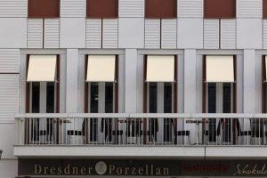 Warema Fenster Markise - Geringer Platzbedarf