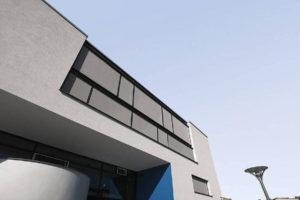 Warema Fenster Markise - Windexponiert Lage